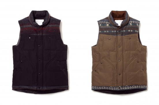 WINDSTOPPER MEMORY WEATHER MICRO PEACH SQUARE STITCH DOWN VEST