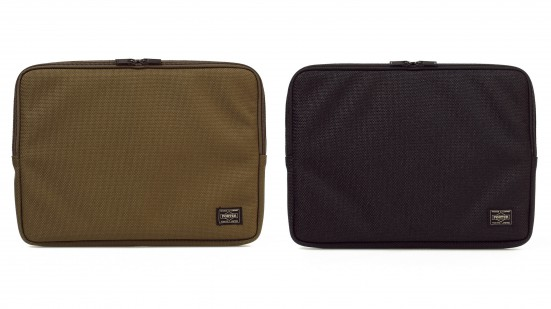 WM×PORTER 2800 DENIER NYLON CLUTCH BAG