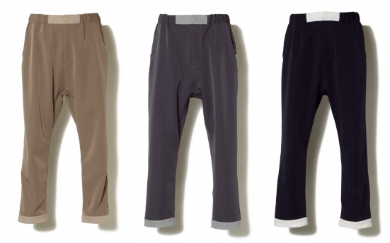 2WAY STRETCH TWILL EASY PANTS