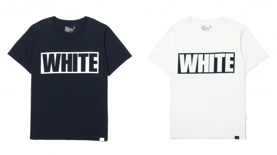 WHITE MOUNTAINEERING PRINT T-SHIRT
