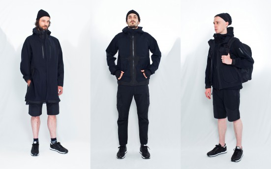 White Mountaineering BLACK シリーズ