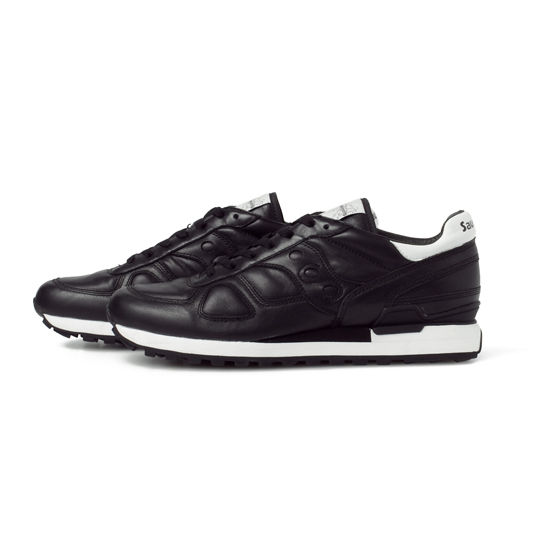 WM x SAUCONY [SHADOW] ALL LEATHER SNEAKERS