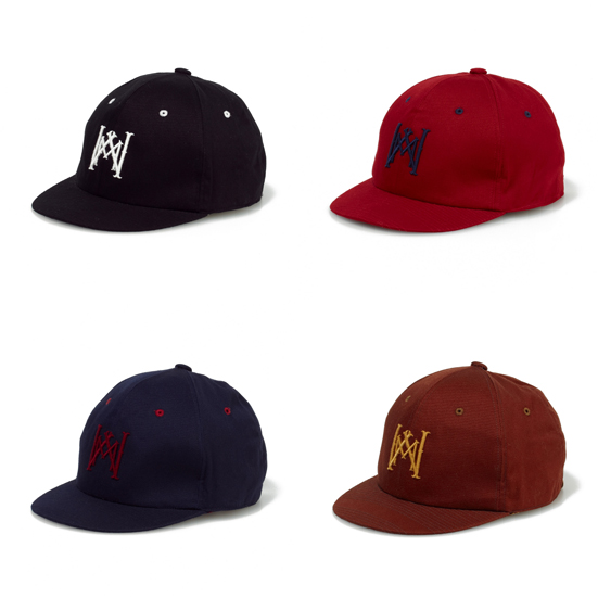 KATSURAGI  WM LOGO EMBROYDERED CAP