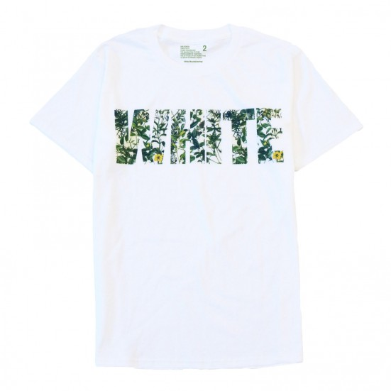 LIMITED WHITE MOUNTAINEERING BOTANICAL PRINT T-SHIRT