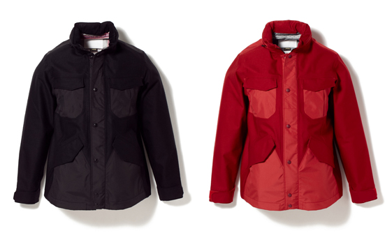 GORE-TEX WOOL HONEY COMB JACKET [CETUS]