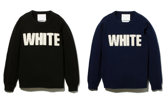 ROUND NECK KNIT [WHITE]