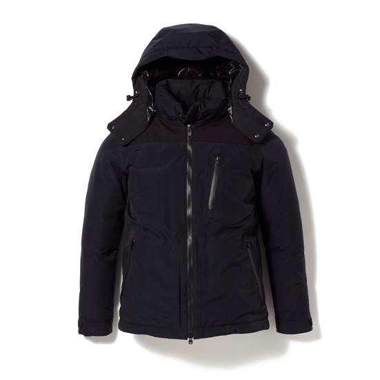 GORE-TEX NYLON TAFFETA DOWN JACKET [SCUTUM]