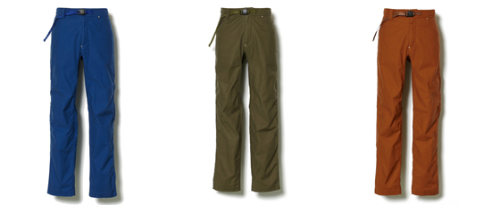MOLESKIN STRETCH SKINNY CLIMBING PANTS