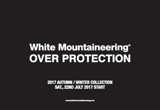 "2017 AUTUMN / WINTER ""OVER PROTECTION"" START"