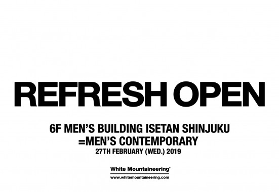 REFRESH OPEN at ISETAN SHINJUKU